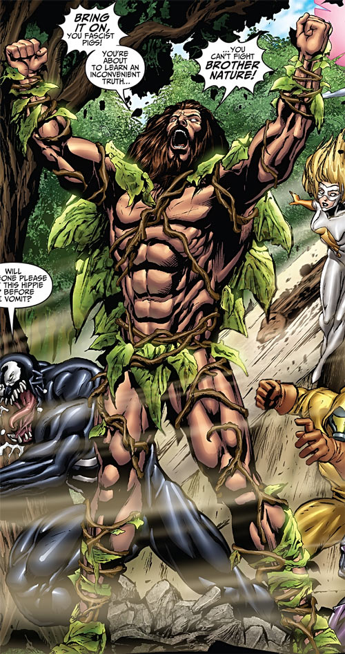 Brother Nature (Marvel Comics) vs. the Thunderbolts