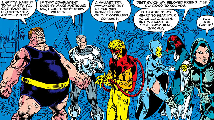 Brotherhood of Evil Mutants IV (Mystique version) (Marvel Comics) jailbreak