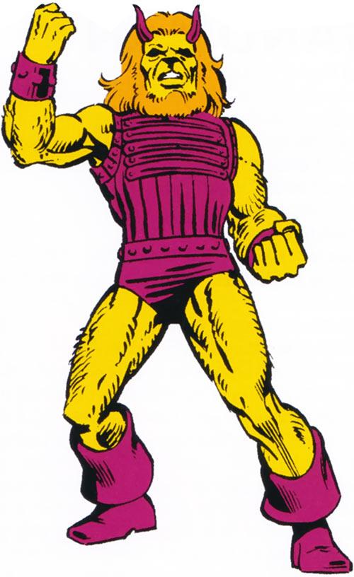 Brutacus (Marvel Comics) (Salem 7) classic appearance