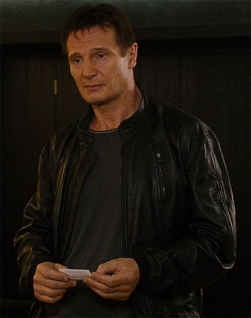 Bryan Mills (Liam Neeson in the Taken movie)