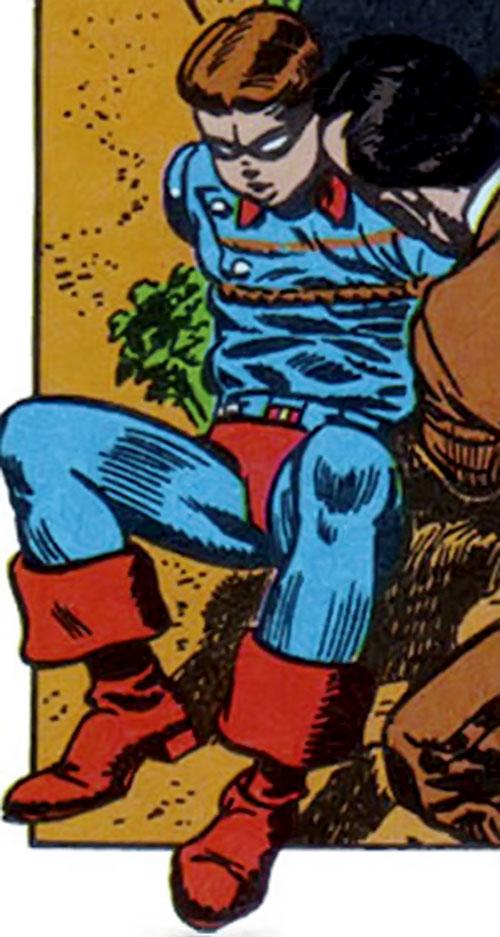 Dodge Of Monroe >> Bucky - Marvel Comics - 1950s Captain America ally ...