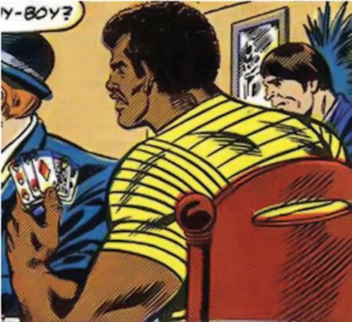 Bucky (Lemar Hoskins) (Captain America character) (Marvel Comics) playing cards