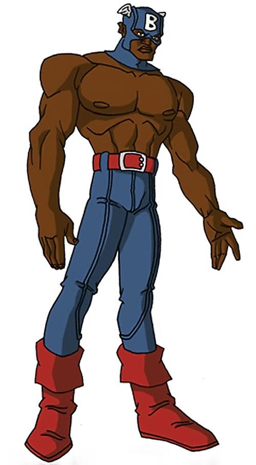 Bucky (Lemar Hoskins) (Captain America character) (Marvel Comics) by RonnieThunderbolts 1/2
