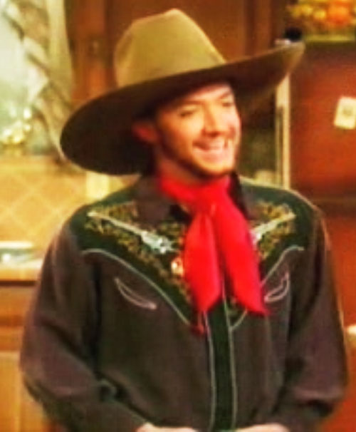 Bud Bundy (David Faustino in Married with Children) cowboy costume