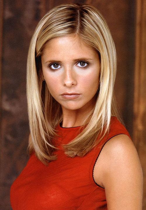 Buffy the Vampire Slayer (Sarah Michelle Gellar) portrait photo