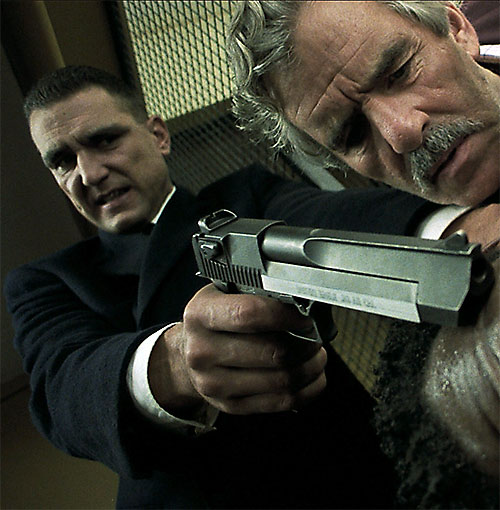 Bullet Tooth Tony (Vinnie Jones in Snatch) with his Desert Eagle