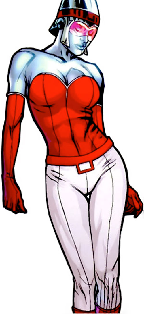 Bulleteer (7 Soldiers) (DC Comics) with swaying hips