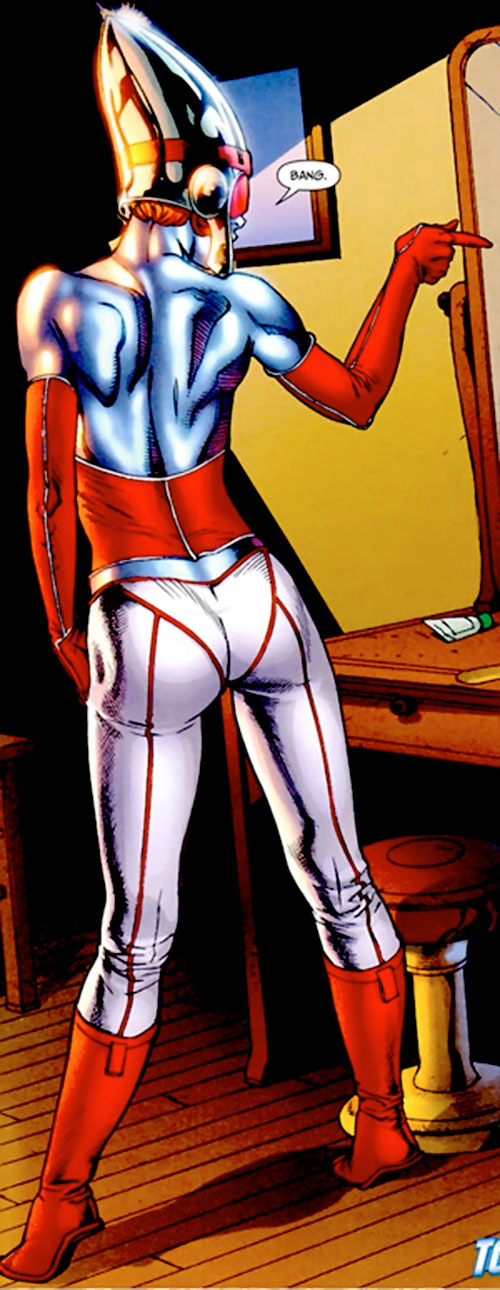 Bulleteer (7 Soldiers) (DC Comics) back view