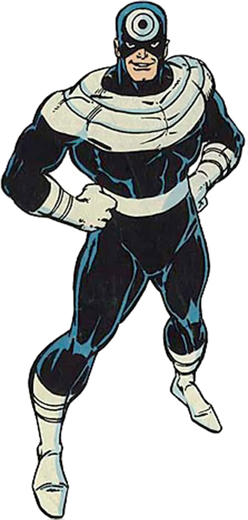 Bullseye (Marvel Comics) (Daredevil enemy) over a white background