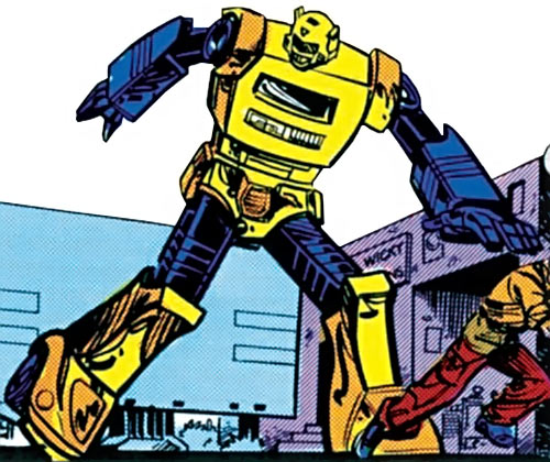 Bumblebee of the Transformers (1980s Marvel Comics) early form
