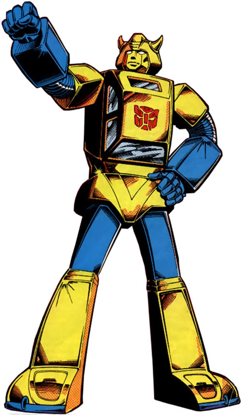 Bumblebee of the Transformers (1980s Marvel Comics)