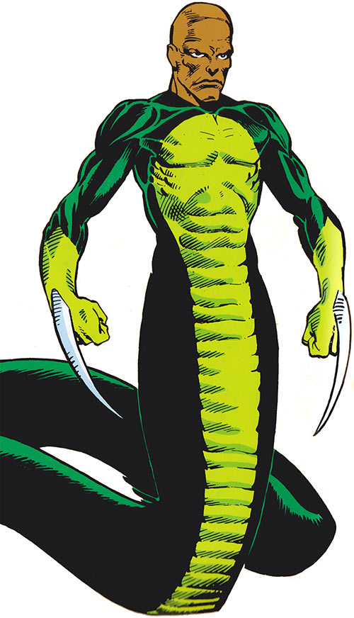 Bushmaster (Marvel Comics) (Serpent Society)