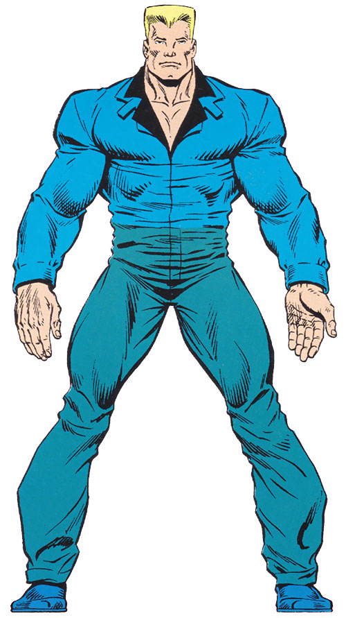 Bushwacker (Marvel Comics) from the Master Edition of the handbook