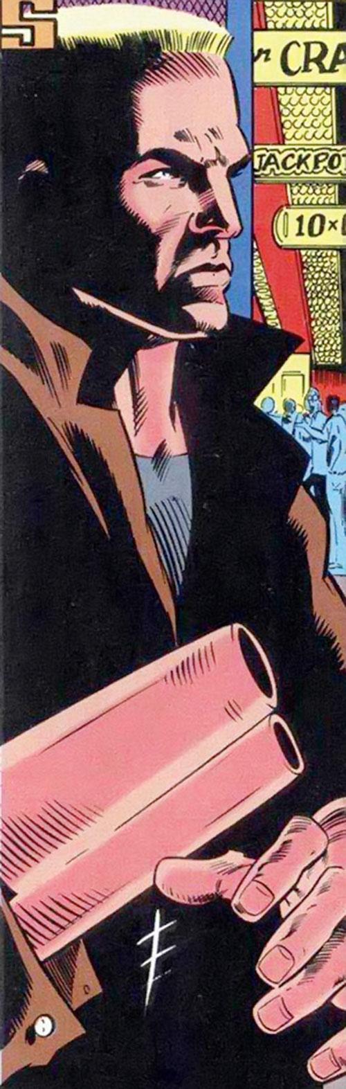 Bushwacker (Marvel Comics) in a casino