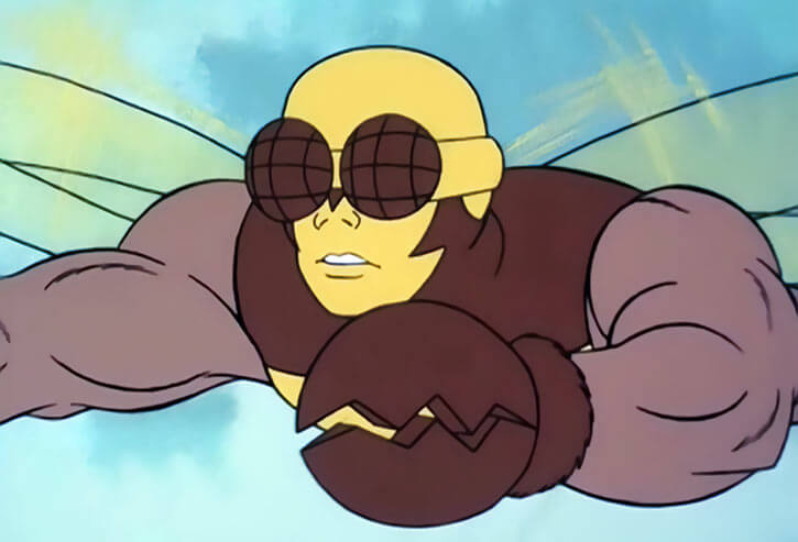 Buzz-Off (Masters of the Universe) 1980s cartoon, flying