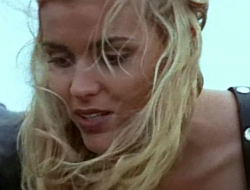 Callisto (Hudson Leick in Xena) blonde hair wind