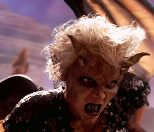 Callisto (Hudson Leick in Xena) as a demon