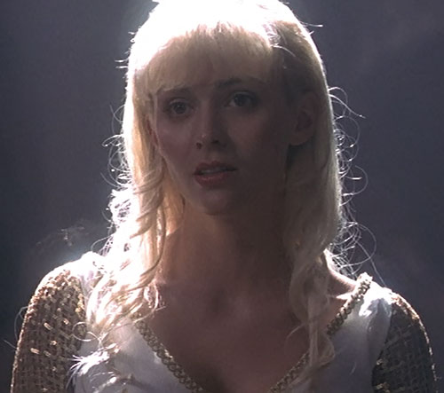 Callisto (Hudson Leick in Xena) redeemed white dress darkness