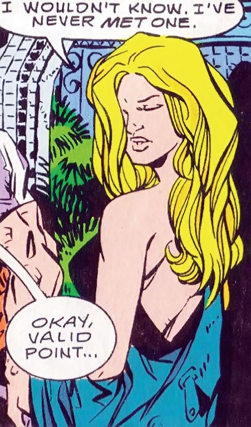 Calorie Queen (DC Comics) (Legion of Super-Heroes 5 year gap) glamorous