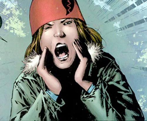 Cammi (Drax character) (Marvel Comics) yelling