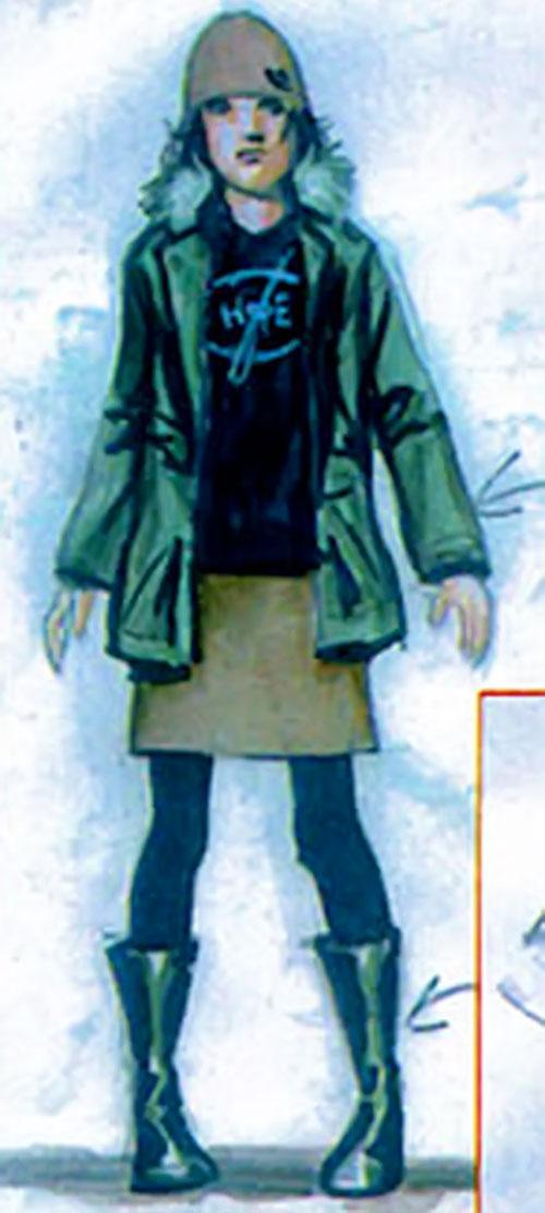 Cammi (Drax character) (Marvel Comics) concept art