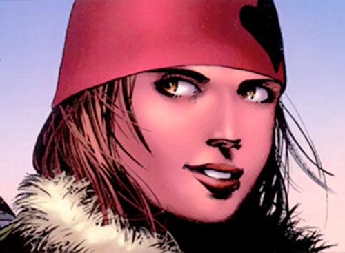 Cammi (Drax character) (Marvel Comics) smiling