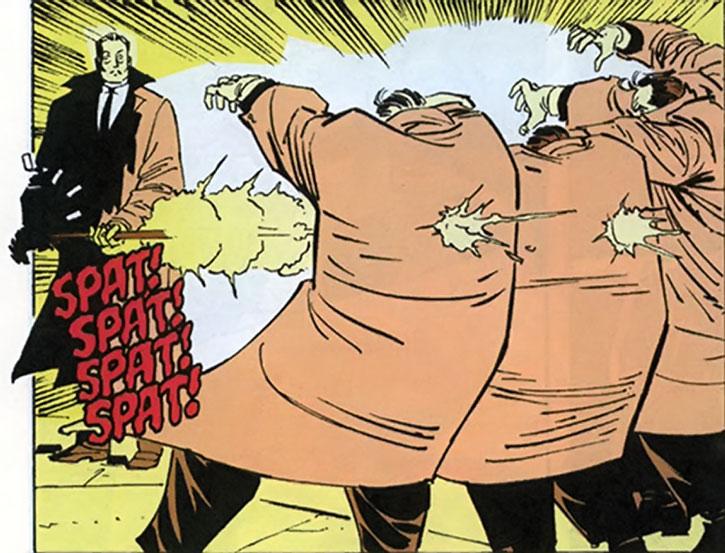 The assassin Cane kills bodyguards