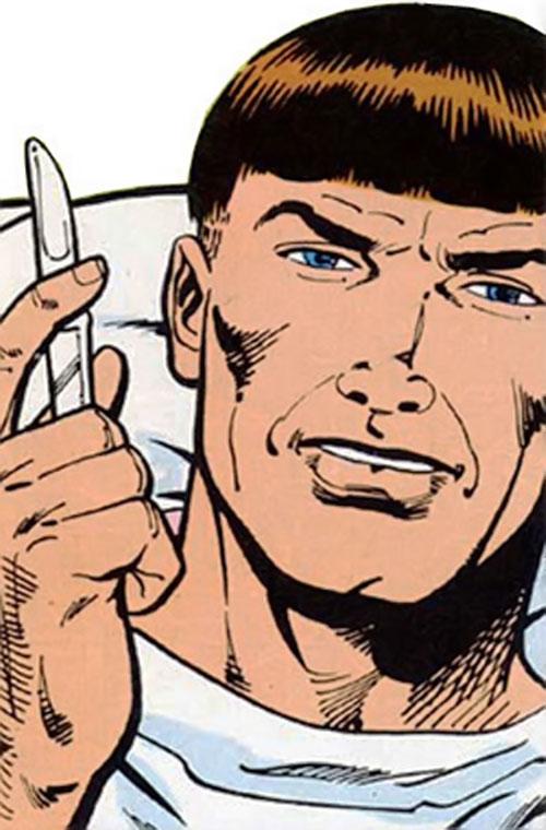 Henry Cannon (Vigilante enemy) (DC Comics) out of costume