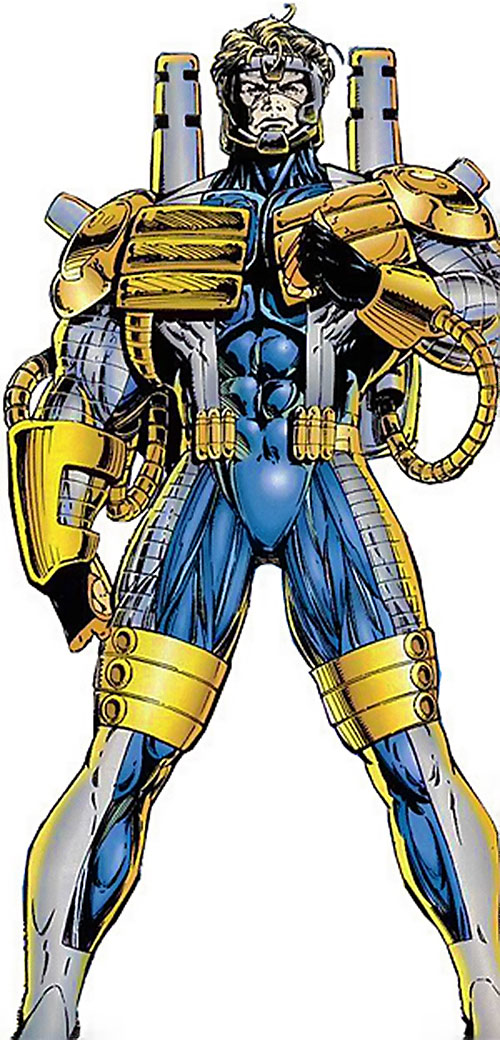 Cannon in his StormWatch armor