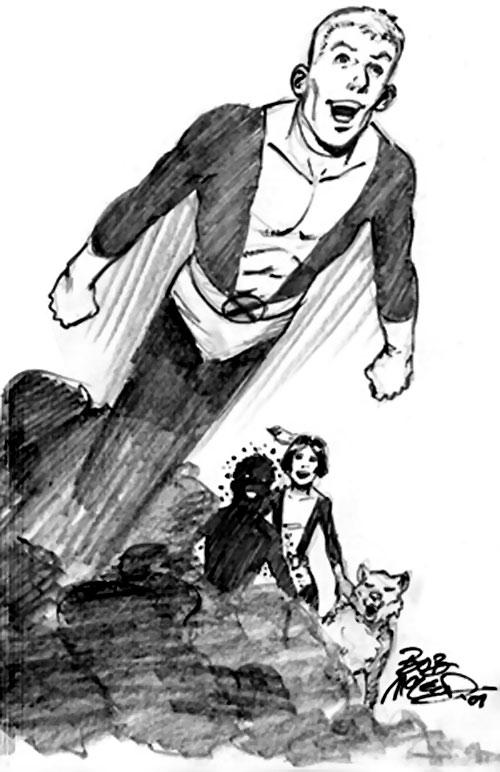 Cannonball (New Mutants) (Marvel Comics) Bob McLeod sketch