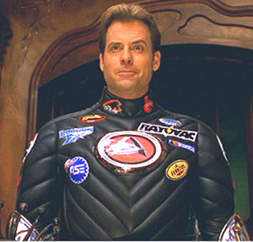 Captain Amazing (Greg Kinnear in Mystery Men)