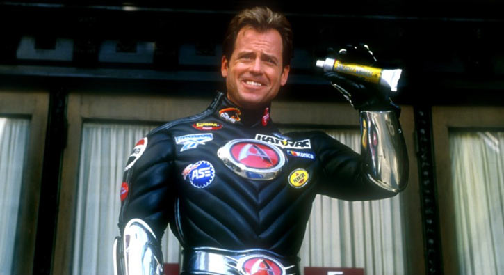 Captain Amazing - Mystery Men movie - Greg Kinnear - toothpaste