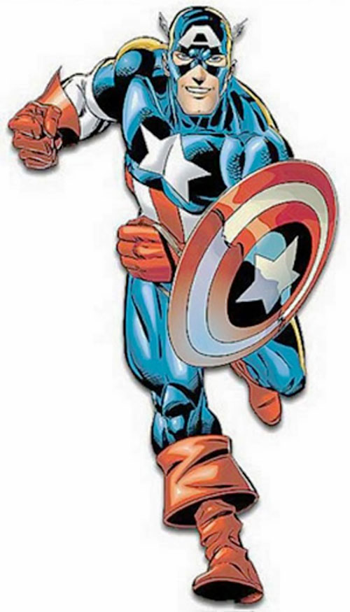 Captain America (Steve Rogers) (Marvel Comics) 2000s art