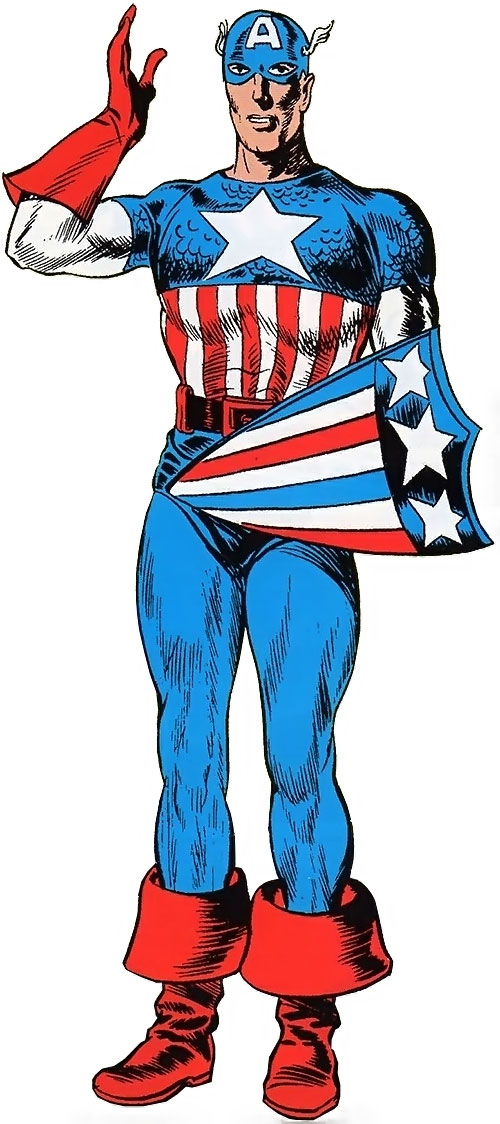 Captain America (Steve Rogers) (Marvel Comics) early appearance