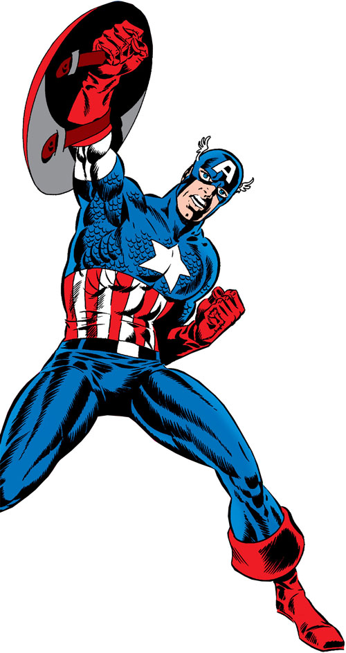 Captain America (Steve Rogers) (Marvel Comics) by Steranko