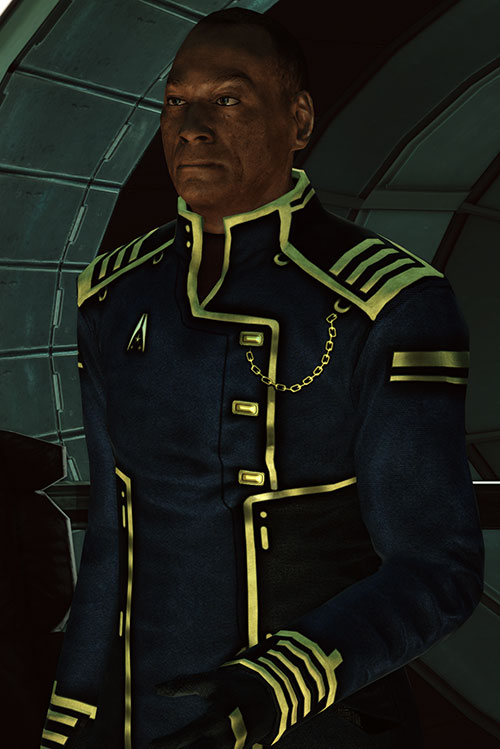 Captain Anderson (Mass Effect 1) resolute