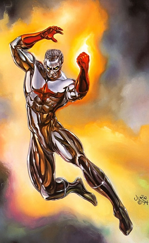 Captain Atom by Julie Bell