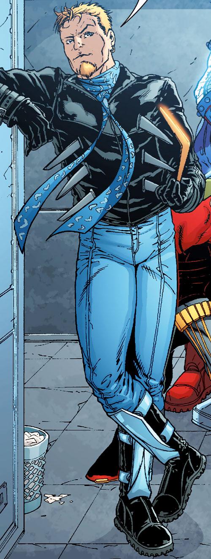 Captain Boomerang (Owen Mercer) of the Outsiders (DC Comics)