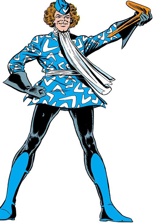 Captain Boomerang of the Suicide Squad (DC Comics) vintage art
