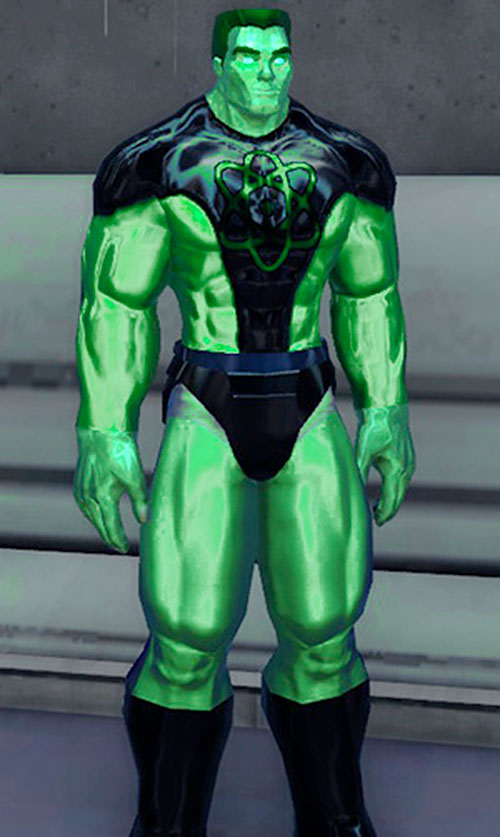 Captain Gamma (DC Heroes RPG) 1/2