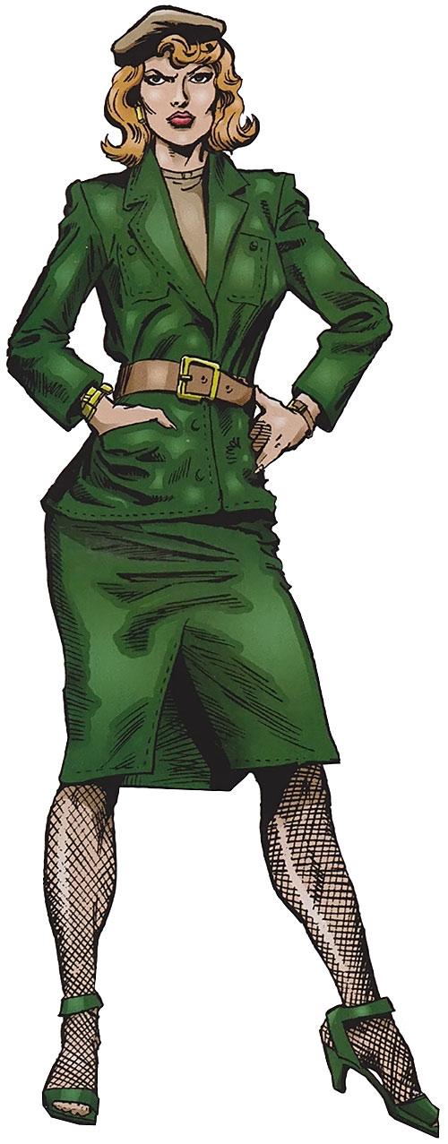 Police Captain Jean Dewolff (Spider-Man characters) (Marvel Comics)