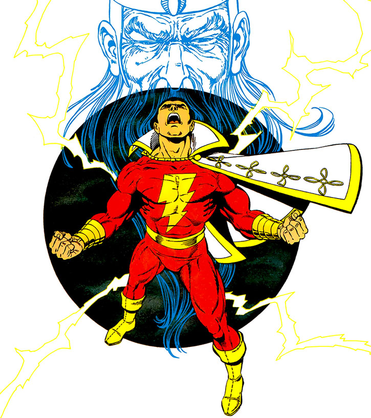 Captain Marvel (Billy Batson) by George Perez