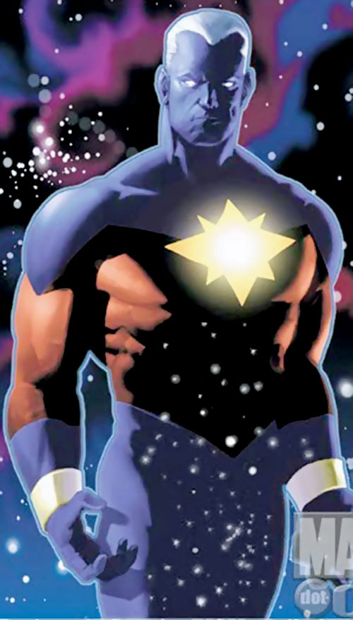 Captain Marvel (Genis Vell) (Marvel Comics) in space