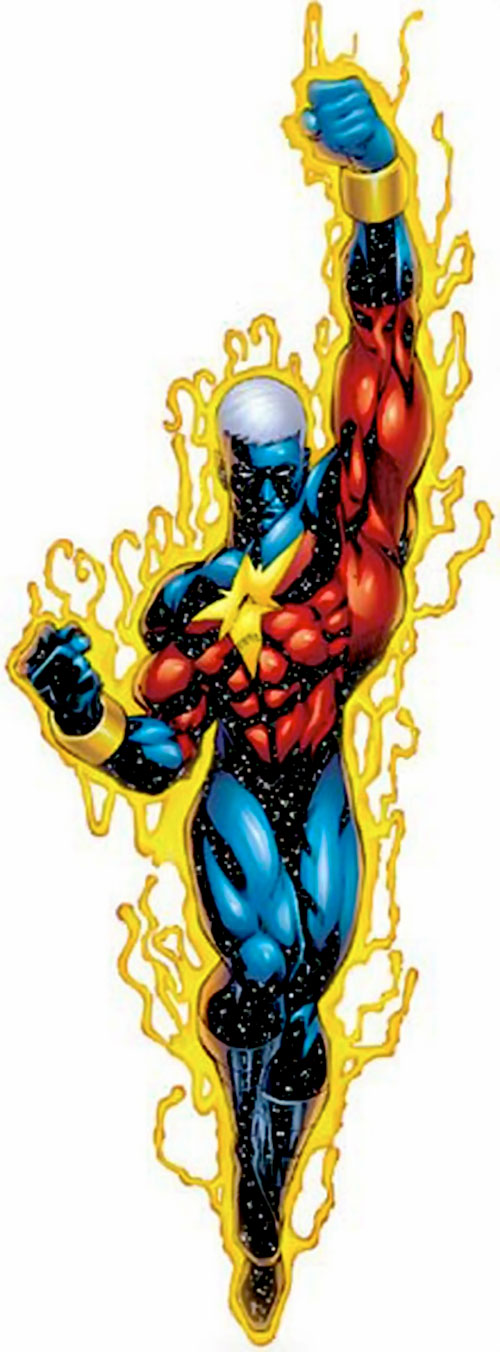 Captain Marvel (Genis Vell) (Marvel Comics)