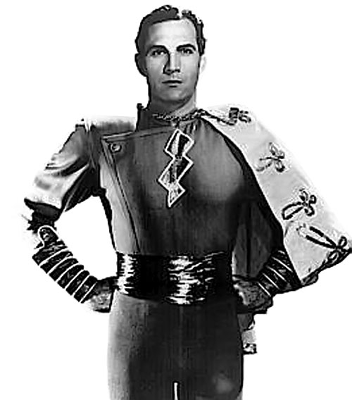 Captain Marvel (1941 Republic serial) - Tom Tyler as Captain Marvel