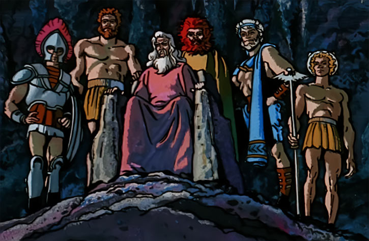 Billy Batson faces the Greek gods in the 1974 TV series