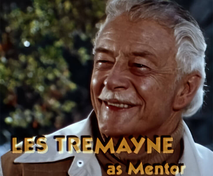 Captain Marvel Shazam live action 1970s series - Les Tremayne as Mentor