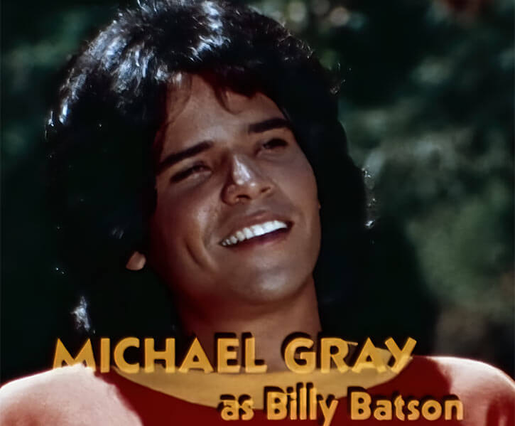 Captain Marvel Shazam live action 1970s series - Michael Gray as Billy Batson