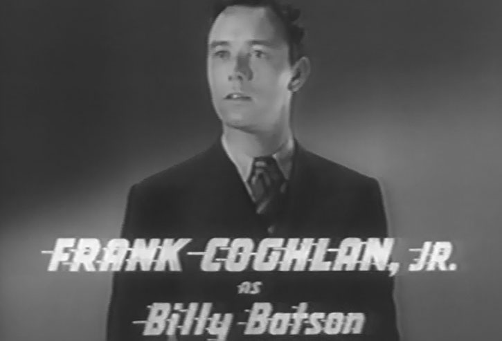 Frank Coghlan, Jr. as Billy Batson