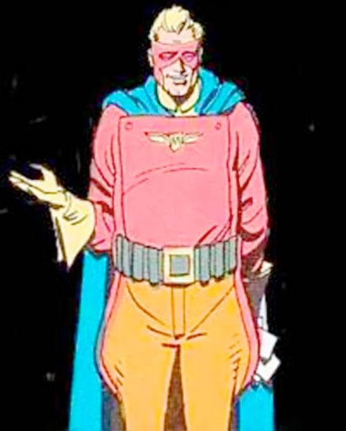 Captain Metropolis of the Minutemen (Alan Moore's Watchmen comics)